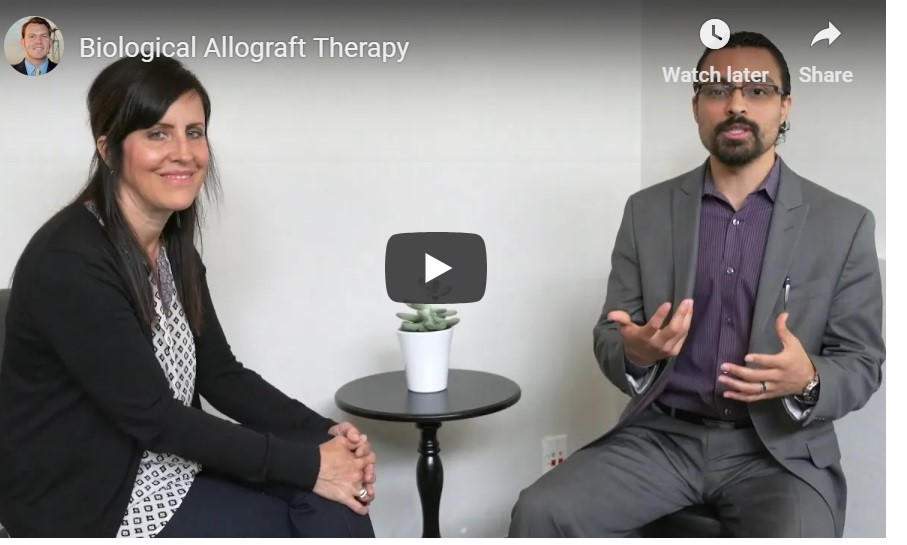 Dr. David Palacios, ND breaking down how he uses Biological Allograft in his practice